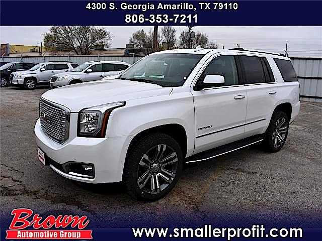 new 2017 gmc yukon denali sport utility in amarillo g7707 brown automotive group. Black Bedroom Furniture Sets. Home Design Ideas