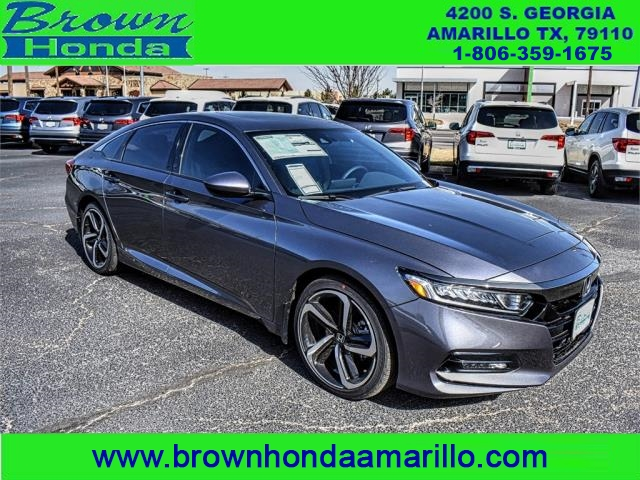 New 2018 honda accord sedan sport 2 0t manual sedan in for 2018 honda accord manual