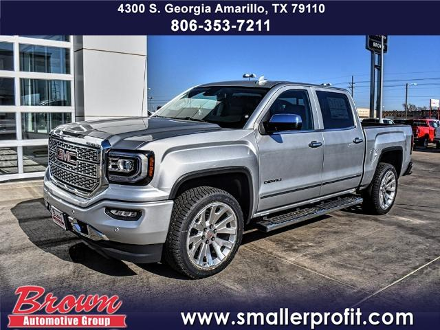 New 2018 Gmc Sierra 1500 Denali Crew Cab Pickup Short Bed In