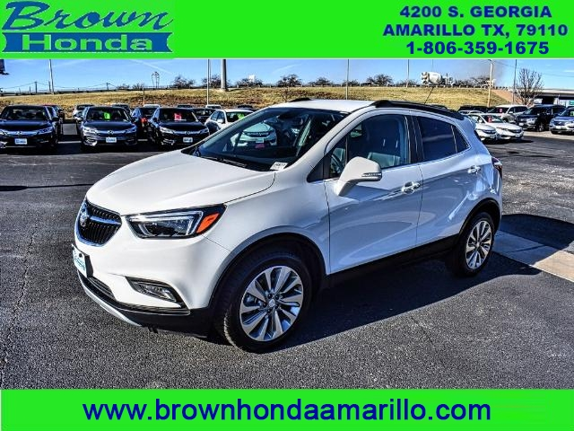 Pre-Owned 2017 Buick Encore FWD 4DR ESSENCE