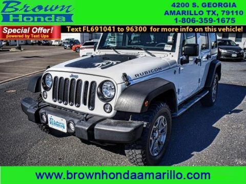 Pre-Owned 2015 Jeep Wrangler Unlimited 4WD 4DR RUBICON Four Wheel Drive suv