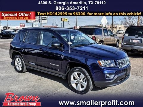 Pre-Owned 2017 Jeep Compass SPORT 4X4 FOUR WHEEL DRIVE suv
