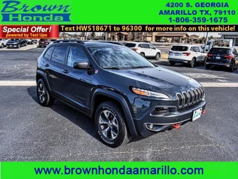Pre-Owned 2017 Jeep Cherokee TRAILHAWK L PLUS 4X4 FOUR WHEEL DRIVE suv