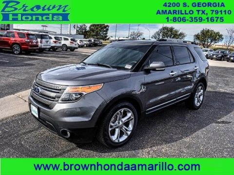 Pre-Owned 2014 Ford Explorer 4WD 4DR LIMITED FOUR WHEEL DRIVE suv