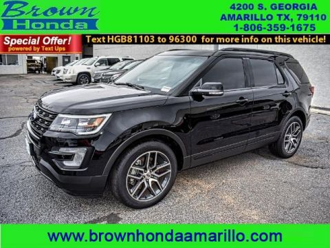 Pre-Owned 2017 Ford Explorer SPORT 4WD FOUR WHEEL DRIVE suv