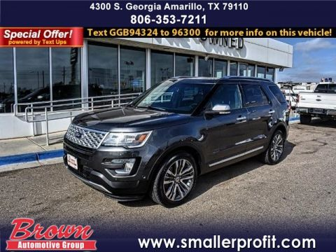 Pre-Owned 2016 Ford Explorer 4WD 4DR PLATINUM FOUR WHEEL DRIVE suv