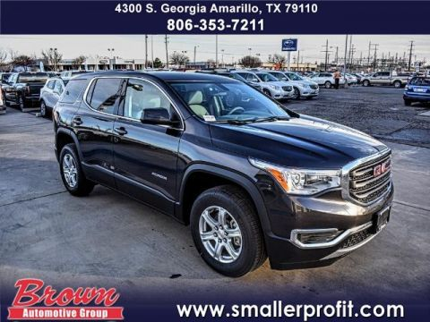 New 2018 GMC Acadia SLE AWD