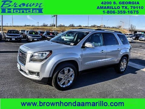 Pre-Owned 2017 GMC Acadia Limited AWD 4DR LIMITED ALL WHEEL DRIVE suv