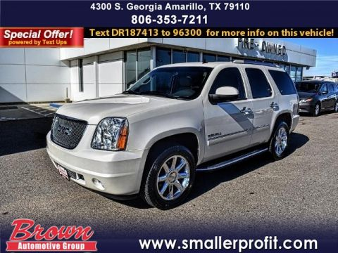 Pre-Owned 2013 GMC Yukon AWD 4DR 1500 DENALI ALL WHEEL DRIVE suv