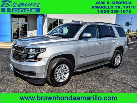 Pre-Owned 2017 Chevrolet Tahoe 4WD 4DR LT FOUR WHEEL DRIVE suv