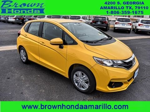 New 2018 Honda Fit LX CVT FWD sedan