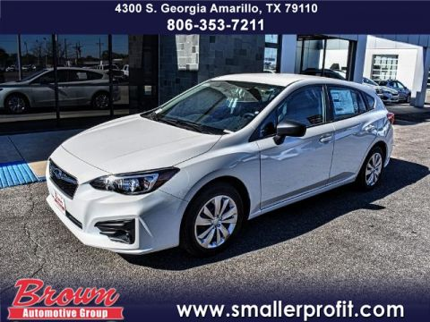 New 2018 Subaru Impreza 2.0i 5-door CVT AWD