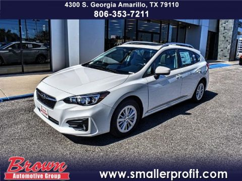 New 2018 Subaru Impreza 2.0i Premium 5-door CVT ALL WHEEL DRIVE sedan