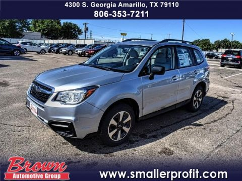 New 2018 Subaru Forester 2.5i CVT AWD