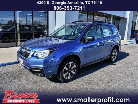 New 2018 Subaru Forester 2.5i CVT ALL WHEEL DRIVE suv