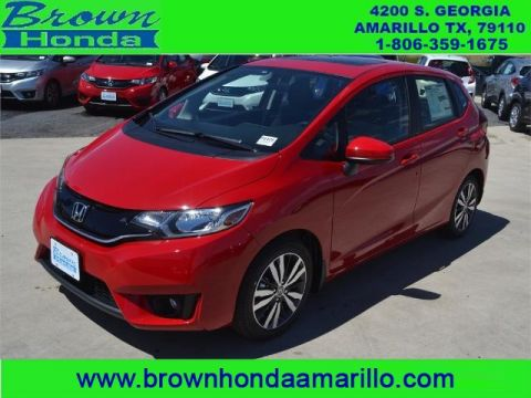 New 2016 Honda Fit 5DR HB CVT EX FWD sedan